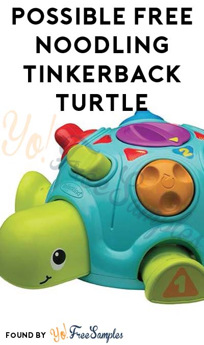Possible FREE Noodling Tinkerback Turtle (Facebook Required / Must Apply)