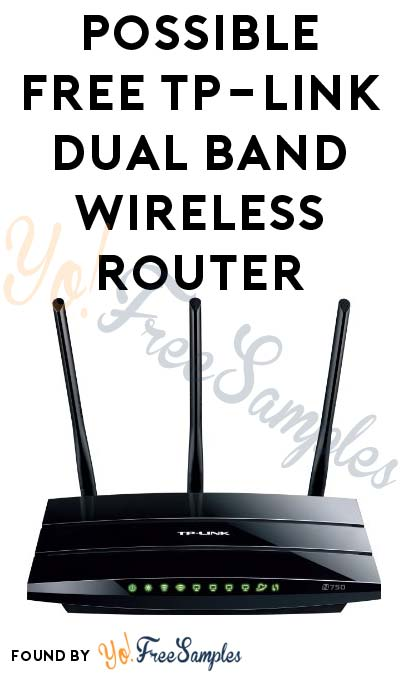 Possible FREE TP-Link Dual Band Wireless Router Or Range Extender (Short Survey Required)
