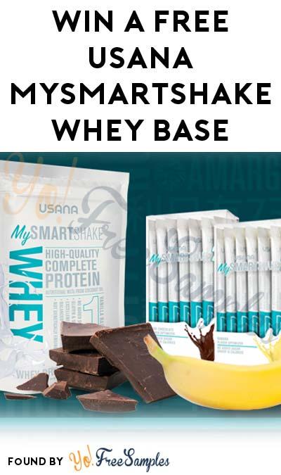 Win A FREE USANA MySmartShake Whey Base & Flavor Optimizer