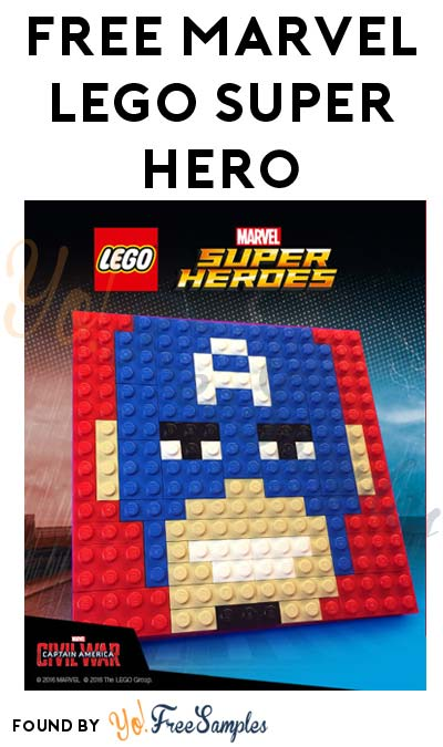 FREE LEGO Marvel Captain America Building Event August 27th 12PM-2PM