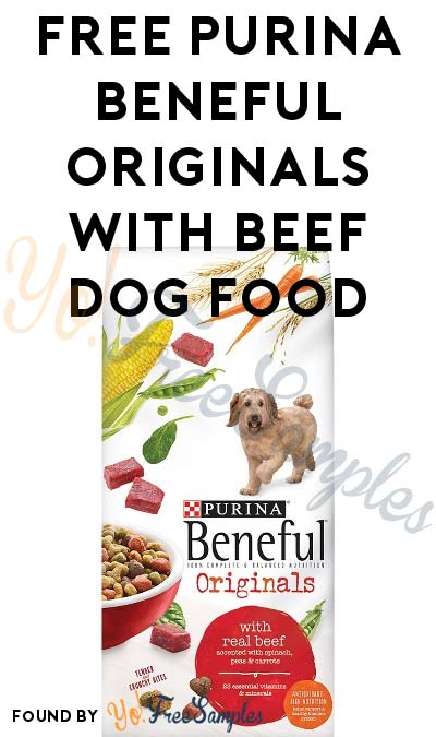 FREE Purina Beneful Originals With Beef Dog Food Sample