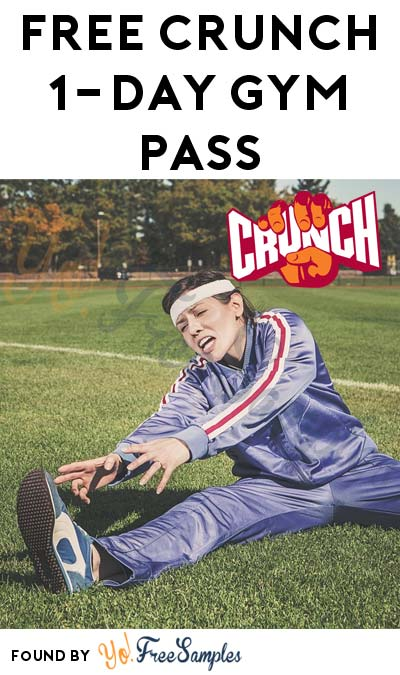 FREE Crunch Gym 1-Day Pass