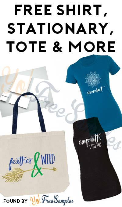 FREE Feather & Wild Shirt, Tote, Stationary or Insider Subscription For Referring Friends