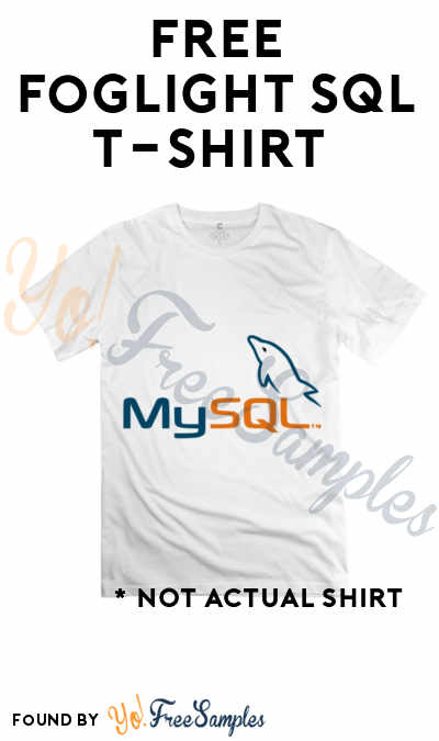 FREE Foglight Performance Analysis T-Shirt (Technical Survey Required)