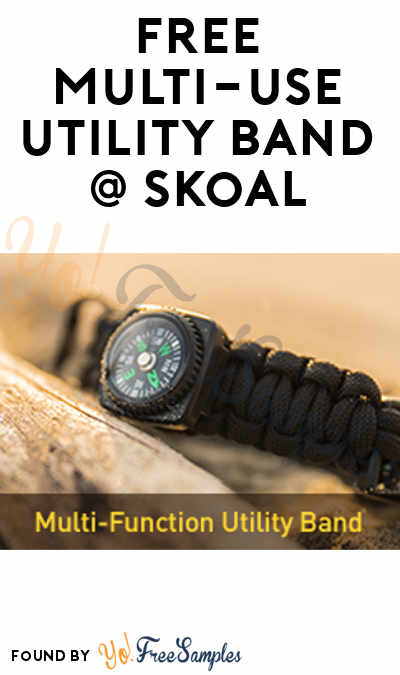 FREE Multi-Function Utility Band From Skoal [Verified Received By Mail]