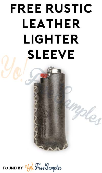 Possible FREE Rustico Leather Lighter Sleeve From Marlboro - Yo