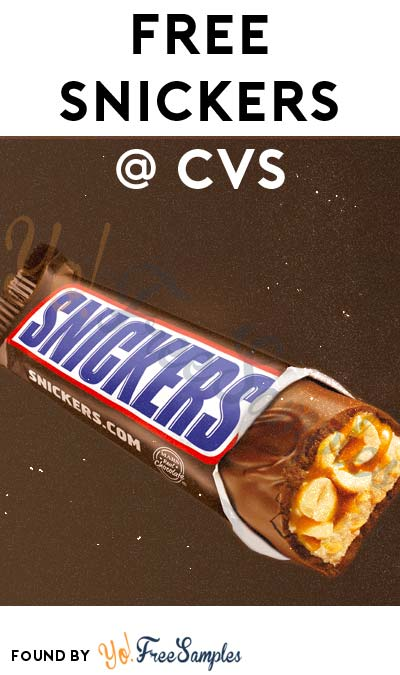 FREE Snickers Bar At CVS (Coupon Required)