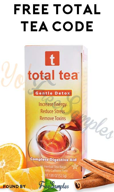 FREE Total Gentle Detox Tea Amazon Code