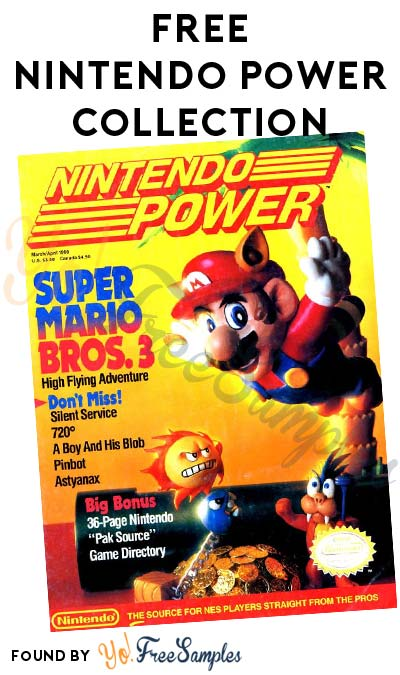 FREE Nintendo Power Magazine Collection