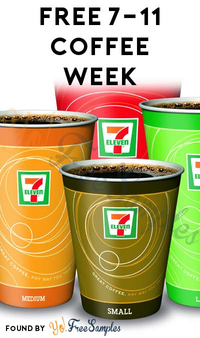LAST DAY: FREE 7-Eleven Coffee Daily October 3rd – 9th (Rewards App Required)