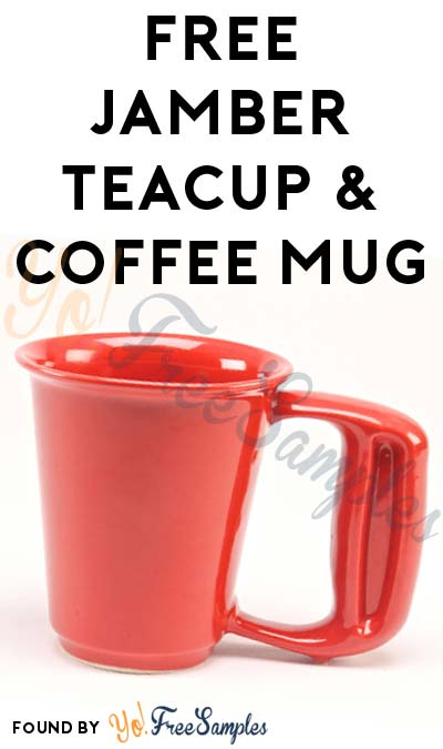 FREE 8oz Teacup & 12oz Coffee Mug From Jamber