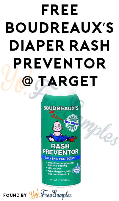 FREE Boudreaux's Rash Preventor At Target (Coupon & Ibotta Required)