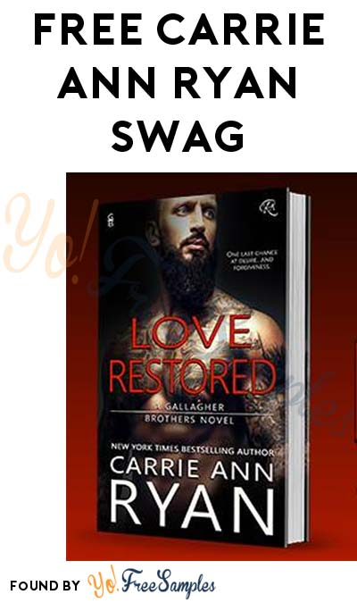 FREE Carrie Ann Ryan Swag