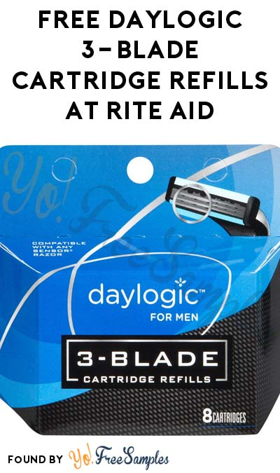 ENDS TOMORROW: FREE Daylogic 3-Blade Cartridge Refills At Rite Aid