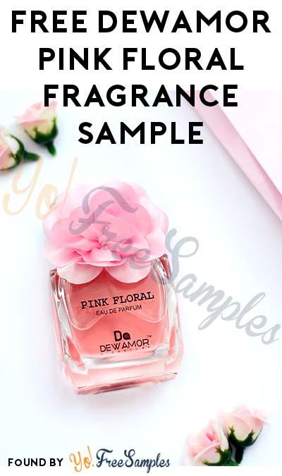 FREE Dewamor Pink Floral Fragrance Sample