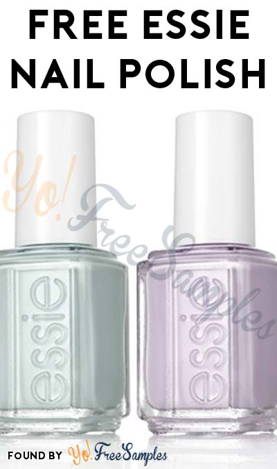 FREE Essie Nail Polish From Toluna (Must Apply)