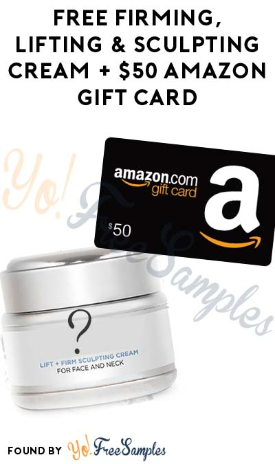 Possible FREE Firming, Lifting & Sculpting Cream + $50 Amazon Gift Card From PinkPanel (Age 45+ Only & Survey + Selfie Required)
