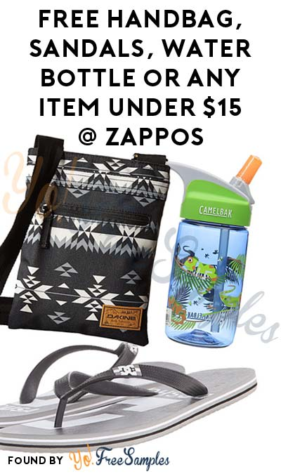 FREE Handbag, Sandals, Water Bottle or Any Item Under $15 At Zappos.com (Existing Members Only) [Verified Received By Mail]