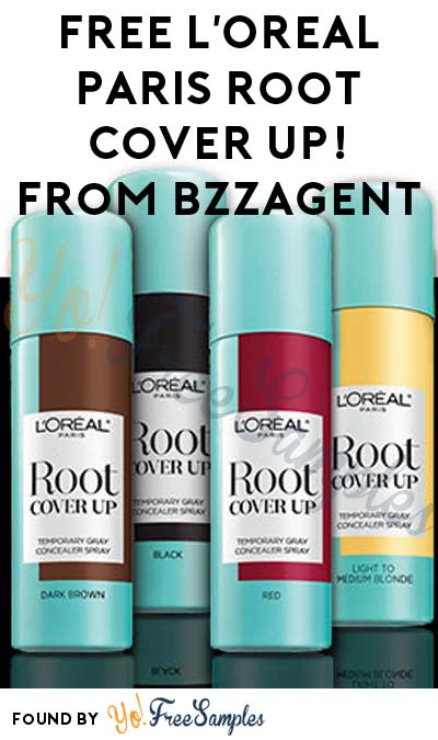 Possible FREE L'Oreal Paris Root Cover Up! From BzzAgent
