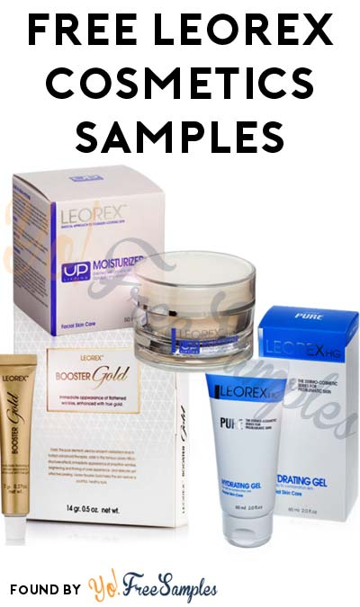 FREE Leorex Cosmetics Samples