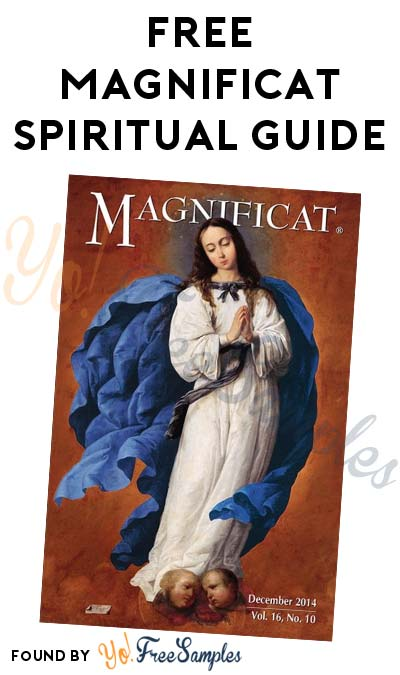 FREE Magnificat Spiritual Guide Sample Issue