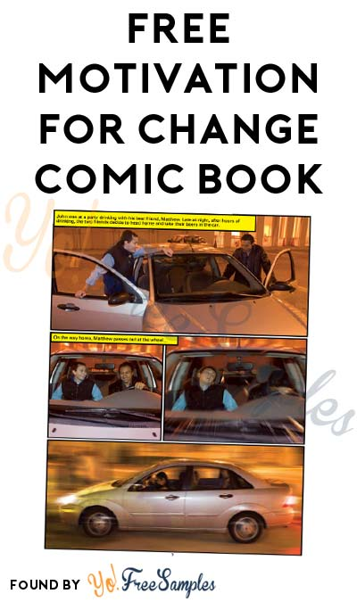 FREE Motivation for Change Comic Book