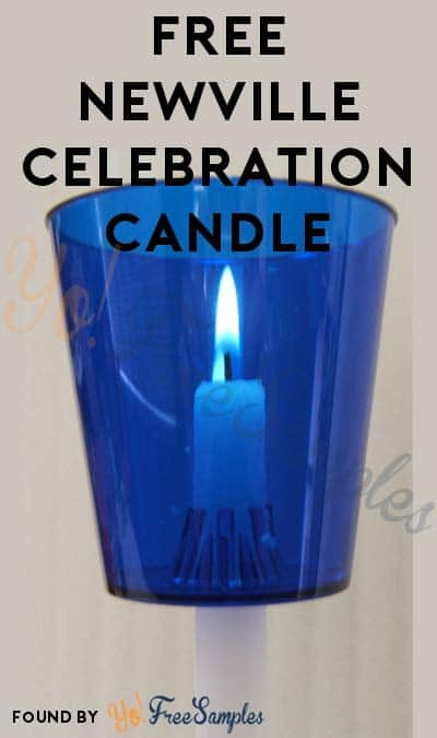 FREE Newville Celebration Candle (Organization Name Required)