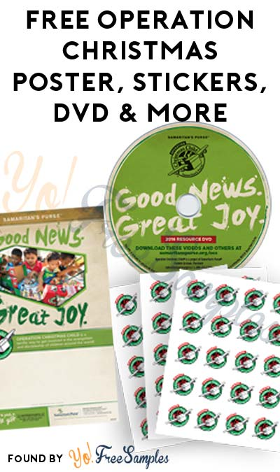 FREE Operation Christmas Poster, Stickers, DVD & More [Verified Received By Mail]