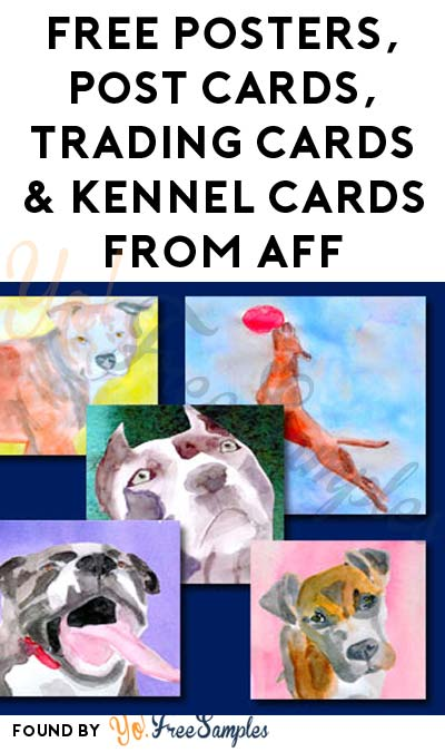 FREE Posters, Post Cards, Trading Cards & Kennel Cards From AFF