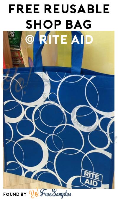 FREE Reusable Shopping Bag At Rite Aid (In-Ad Coupon Required)