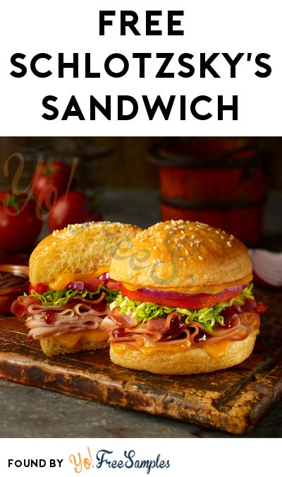 FREE Schlotzsky's Sandwich For Downloading Mobile App & Another For Referring A Friend