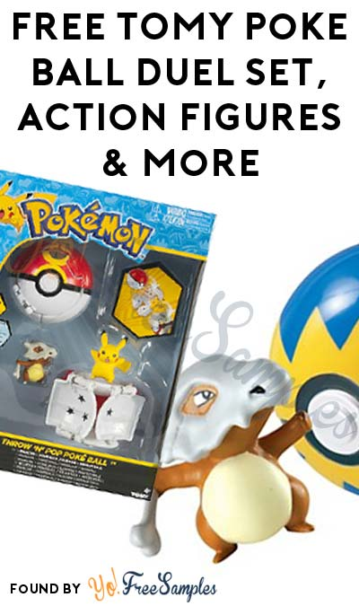 FREE TOMY Pokemon Ball Duel Set, Collectible Action Figures & More (Apply To Host Party)