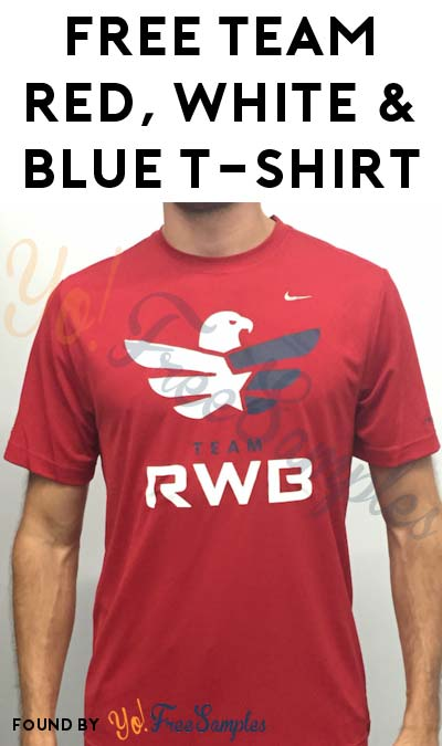 FREE Team Red, White and Blue T-Shirt (Veteran's Only & Survey Required)