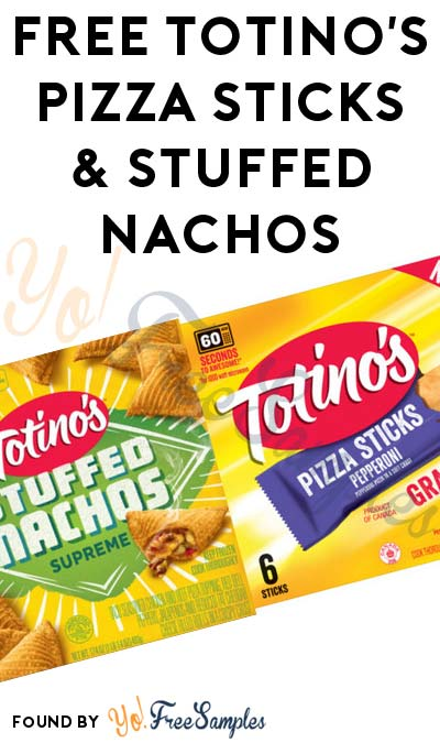 FREE Totino's Pizza Sticks & Stuffed Nachos (Existing Pillsbury Members Only)