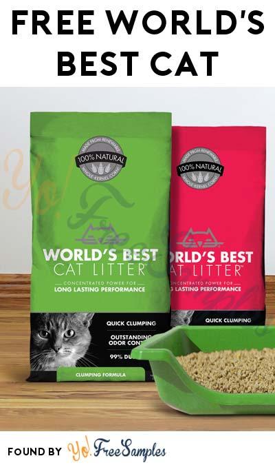 FREE World's Best Cat Litter (Mom Ambassador Membership Required)
