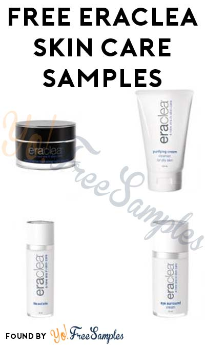 FREE eraclea Skin Care Samples