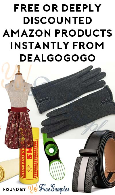FREE or Deeply Discounted Amazon Products Instantly From DealGoGoGo