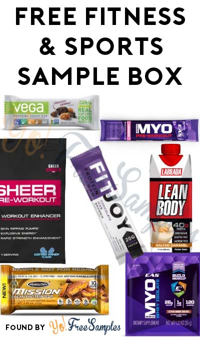 FREE Fitness & Sports Nutrition Product Sample Box After Rebate For Amazon Prime Members