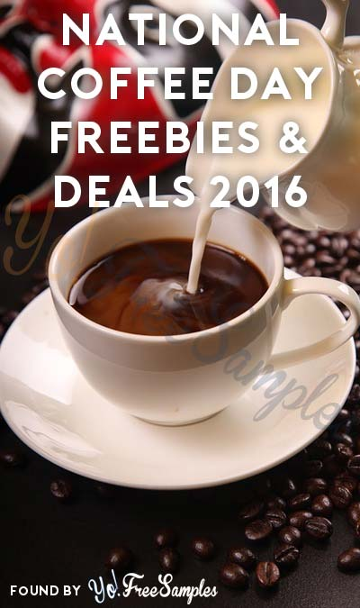FREE Coffee Today Anyone? Read The National Coffee Day (9/29) Freebies & Deals 2016