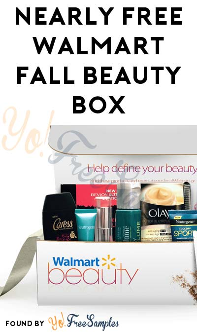 Nearly FREE Spring 2017 Walmart Beauty Box 5 Shipping Required – Free Mail Sample