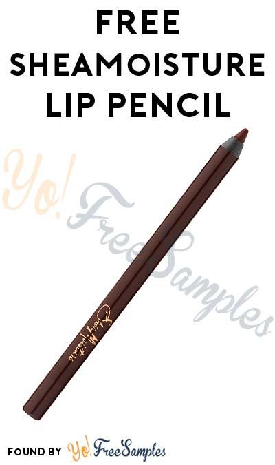 FREE SheaMoisture Prime & Define Lip Pencil (Short Survey Required)