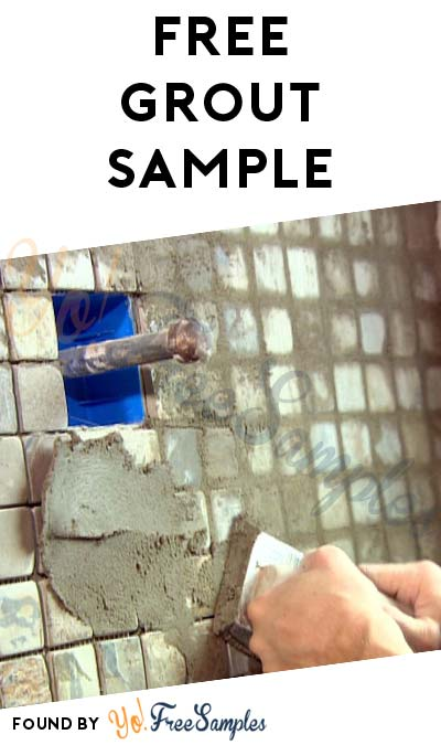 FREE Laticrete Grout Sample