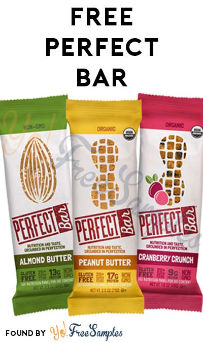 FREE Perfect Bar At 3PM EST / 2PM CST / Noon PST (Facebook / Not Mobile Friendly)