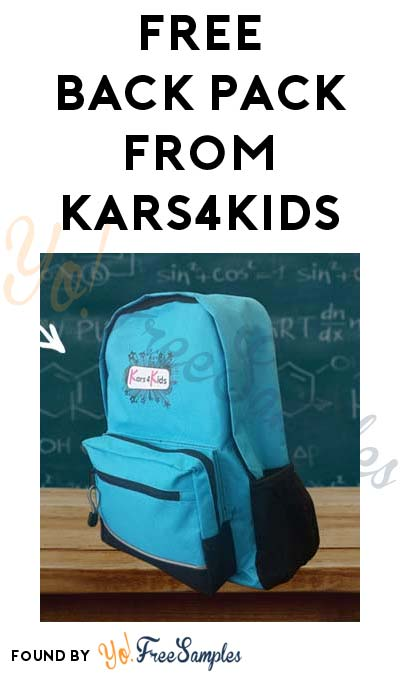 FREE Student Backpack From Kars4Kids