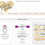 Free Printable Wedding Invitations – Our List and Tips
