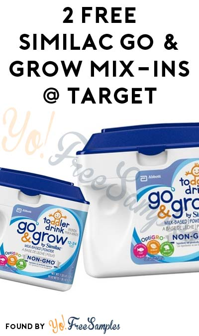 2 FREE Similac Go & Grow Mix-Ins 10-Counts At Target (Cartwheel, Ibotta & Coupon Required)