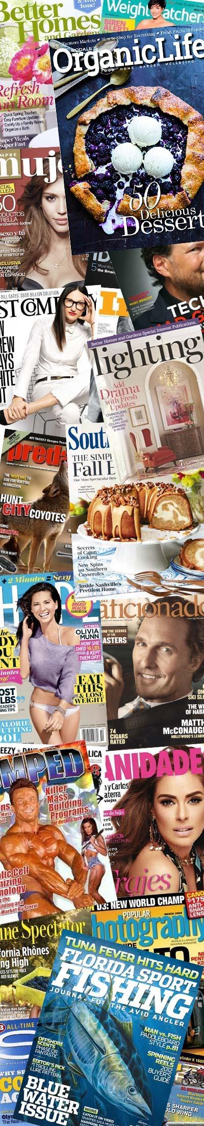 16 FREE Magazines Today
