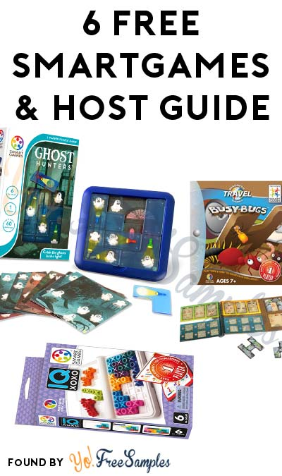 6 FREE SmartGames & Host Guide (Must Apply To Host Tryazon Party)