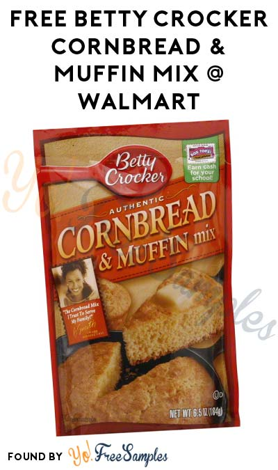 FREE Betty Crocker Cornbread & Muffin Mix At Walmart (Ibotta Required)