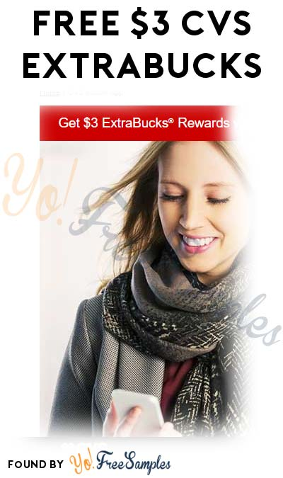 FREE $3 CVS ExtraBucks For Linking CVS Pharmacy App
